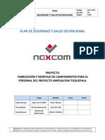 Sig-f-023 Plan de Seguridad y Salud Ocupacional - Toquepala