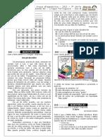 3ª P.D. - 2015 - (Port. 3ª Série E.M - Blog Do Prof. Warles)