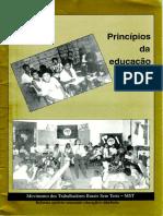 Principios da Educação do MST