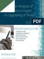 Economic Analysis of Maintenance Impact on Upgrading Roads