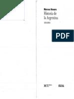 Novaro Marcos - Historia de La Argentina 1955 - 2010