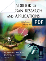(Biotechnology in Agriculture Industry and Medicine Series) Tait, Jennifer M._ Mackay, Richard G-Handbook of Chitosan Research and Applications-Nova Science Publishers (2012)