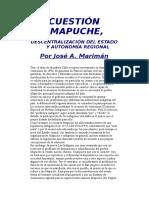 Cuestión Mapuche