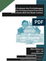 Pemberian Pendapat dan Pertimbangan  Badan Pemeriksa Keuangan kepada Pemerintah  pada Kasus Bail-Out Bank Century