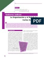 Vargas, Gobierno Judicial