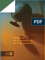 Argentina Situacion de La Poblacion en La Argentina Cap III Pags 160 a 184