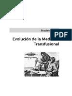 Historia Medicina Transfusional