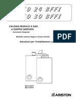 Caldera Ariston Geniamaxi Manual Inst