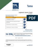 Tarea Legislacion Laboral y Social