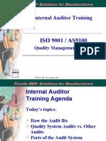 WI-822-001 Internal Auditor Training
