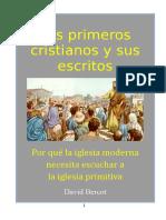 Bercot David W - Los Primeros Cristianos Y Sus Escritos.doc