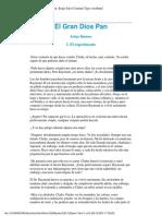 Machen, Arthur - El Gran Dios Pan 1.pdf