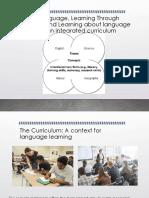 Learning Language Class
