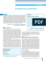 proteinurie laoratoire sciencedirect