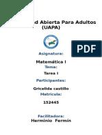 Reporte i Matematica .