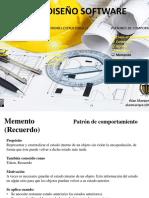 Patrón de Diseño - Memento