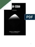 Zoila Capristán - Bajo cero