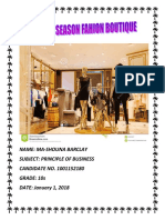 Pob Sba Changing Season Fashion Boutique
