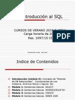 BD SQL Parte0 Introduccion