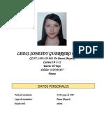 Ledis Soneidy Guerrero Pulido