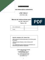 Manual Instrucciones LTM 1150-6.1