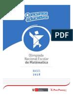 Bases Onem 2018