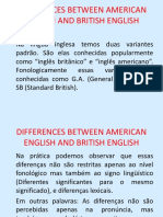 07_differences Between American English and British English