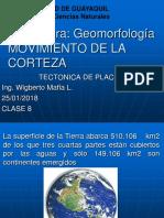 2º Seg. P Geom Clase 8 Movimiento de La Corteza Terrestre