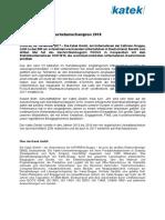 Pressemitteilung FOCUS Wachstumschampions 2018