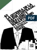 Villacañas Berlanga, José Luis - La Quiebra De La Razón Ilustrada. Idealismo Y Romanticismo (2).pdf