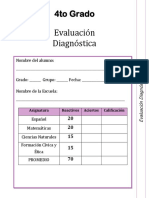 4to Grado - Diagnóstico(1)