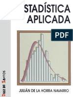 Estadística aplicada – Julián de la Horra.pdf