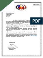 1.- Invitacion Profesores Carta Mundial