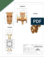 Pieza Plano diseño mecanica