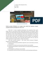 Tugas M2 KB 1.1 Analisis Video Kompetensi Guru