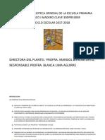 Informe Biblioteca General 2018 Esc Francisco i Madero