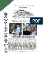 October 2010 NVYC Newsletter
