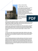 La Cultura y Civilización Olmeca