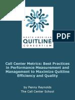 Call Center Metrics