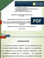Propuesta PE Martínez Daniel