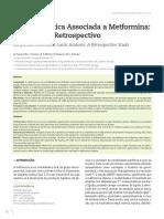 Acidose Láctica Associada a Metformina 2014