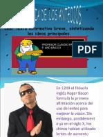 Historia de Los Anteojos