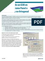 Visualización de Un GSM en 2D Como Diagrama Panel o Como Un Corte No Ortogonal