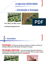 Aula 1 - Introdução à Zoologia Agrícola