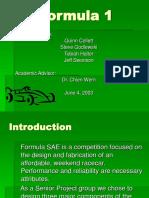 Formula1 Final Presentation