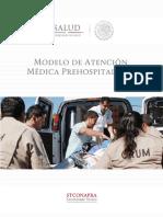 Modelo de Atencion Medica Prehospitalaria
