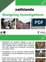 25791 Designing Investigations