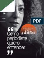 """Entrevista a Leila Guerriero """"Como periodista quiero entender"""""""