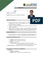 Resume Nilay