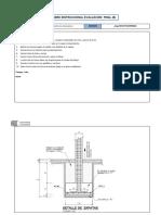 Examen Final de Dibujo Para Diseño de Ingeniería I